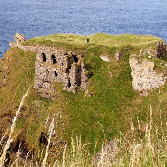 Ruins of the Findlater castle
