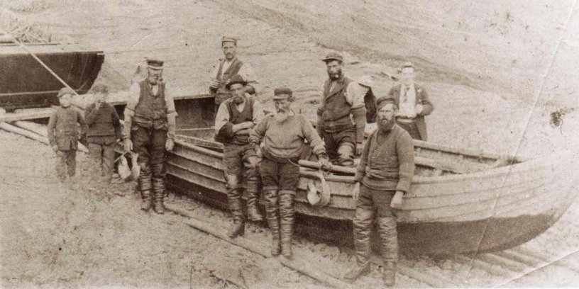 Portsoy fishmans in the past